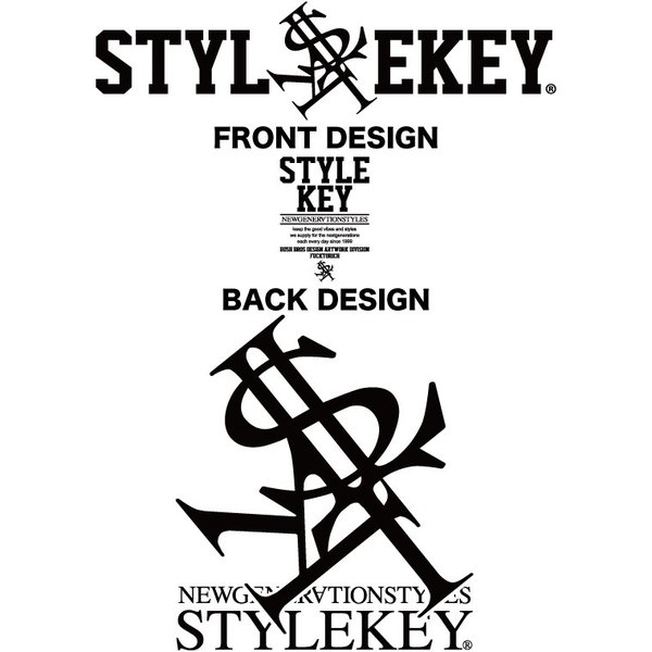 STYLEKEY スタイルキー 半袖ジップスウェットパーカー PRIME ROYAL S/S ZIP HOOD SWEAT(SK19SP-SWJK01) ストリート系 B系 大きいサイズ|b-bros|05