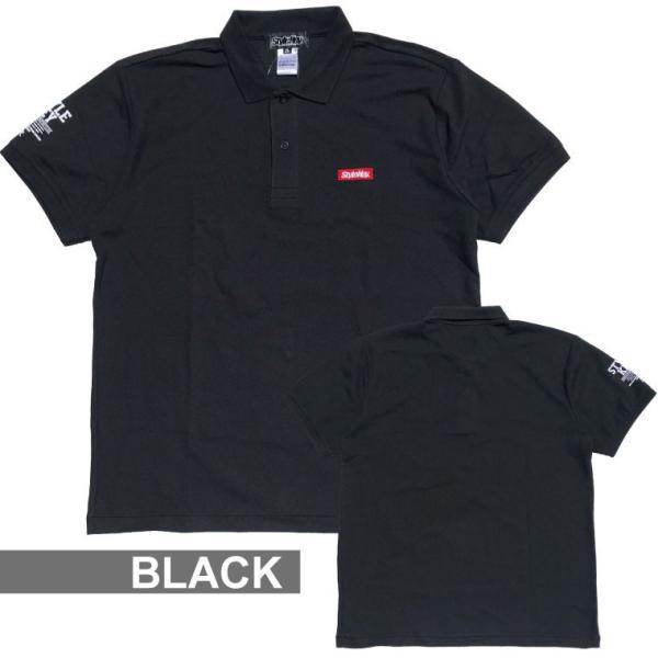 STYLEKEY スタイルキー ポロシャツ SMART BOX 鹿の子 S/S POLO(SK19SU-PL01) ストリート系 B系 大きいサイズ b-bros 03