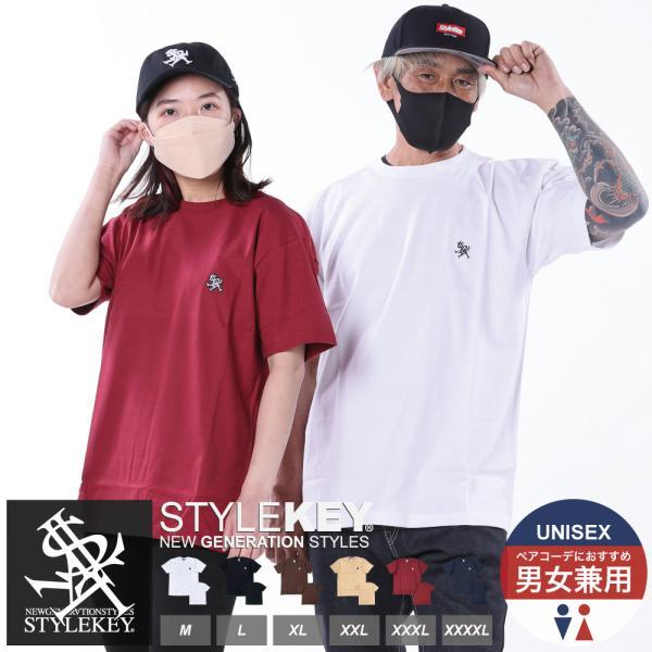 STYLEKEY(スタイルキー) 半袖Tシャツ ROYAL POINT S/S TEE(SK19SU-SS02) ストリート系 B系 大きいサイズ b-bros