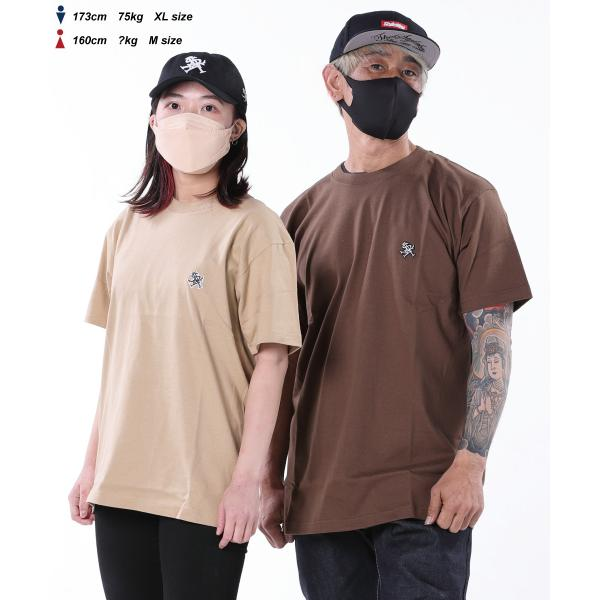 STYLEKEY(スタイルキー) 半袖Tシャツ ROYAL POINT S/S TEE(SK19SU-SS02) ストリート系 B系 大きいサイズ b-bros 02
