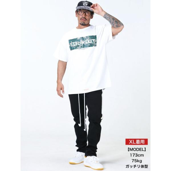 STYLEKEY スタイルキー 半袖Tシャツ COCKPIT S/S TEE(SK19SU-SS06) ストリート系 B系 大きいサイズ|b-bros|02