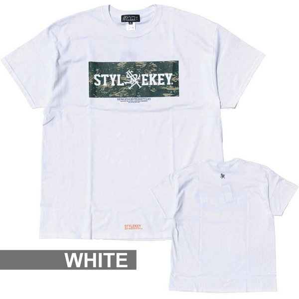 STYLEKEY スタイルキー 半袖Tシャツ COCKPIT S/S TEE(SK19SU-SS06) ストリート系 B系 大きいサイズ|b-bros|03