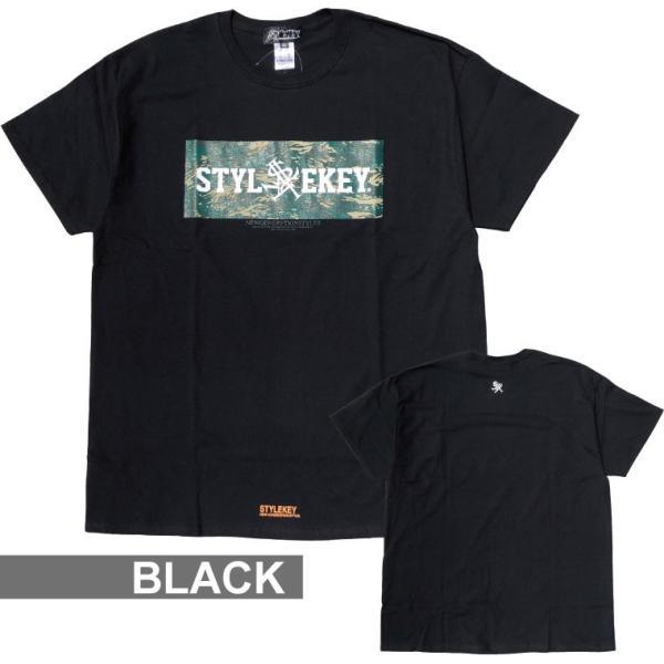 STYLEKEY スタイルキー 半袖Tシャツ COCKPIT S/S TEE(SK19SU-SS06) ストリート系 B系 大きいサイズ|b-bros|04