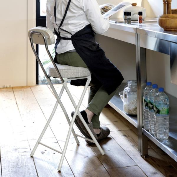 折りたたみ椅子PFC-40Fシリンダー式フォールディングハイチェア/椅子軽い/折り畳み式チェア/パイプ椅子折り畳み/折り畳みパイ
