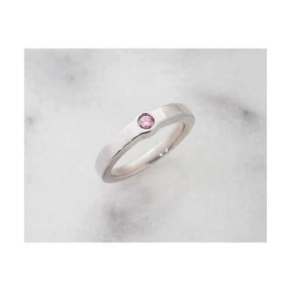 MARE マーレ ピンクキュービックジルコニア CZ チタン リング 指輪 15号のみの取り扱いとなります。