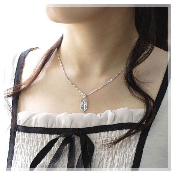 ネックレス レディース closetome 永遠の矢 ブルーダイヤモンド Lady's レディース チェーン40cm b-ciao 02