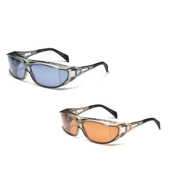 〔取寄〕ellesse エレッセ メガネの上からかけられるオーバーサングラスLサイズ ES-OS01