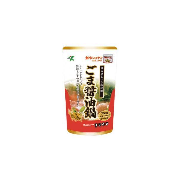 TOHO 桃宝食品 創味シャンタンごま醤油鍋つゆ 750g×12個入り〔軽減税率対象商品〕