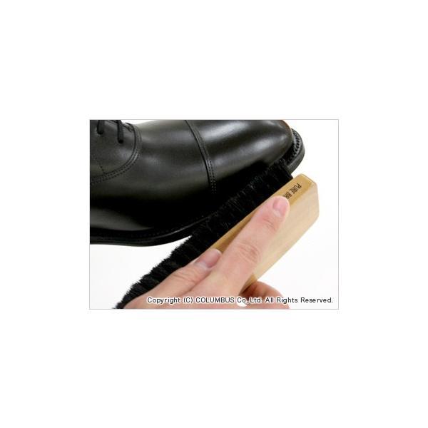 靴磨き ブラシ コロンブス COLUMBUS ハリスブラシ472(豚毛)