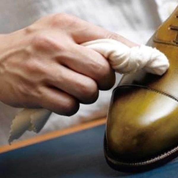 靴磨き 布 M.MOWBRAY モゥブレィ モウブレイ ポリッシングコットン 靴磨き クロス