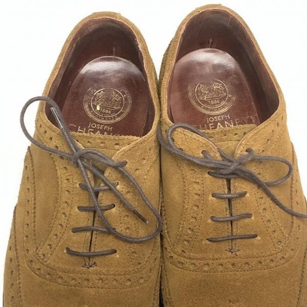 チーニー CHEANEY  ユナイテッドアローズ 別注 ウイングチップ シューズ メンズ 靴  【中古】 b-living 05