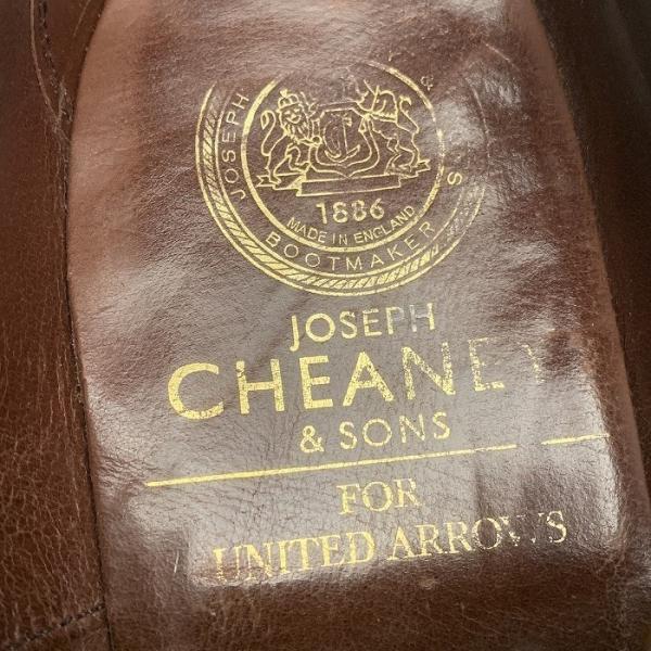 チーニー CHEANEY  ユナイテッドアローズ 別注 ウイングチップ シューズ メンズ 靴  【中古】 b-living 06