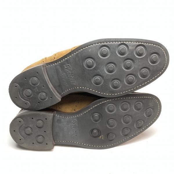 チーニー CHEANEY  ユナイテッドアローズ 別注 ウイングチップ シューズ メンズ 靴  【中古】 b-living 08