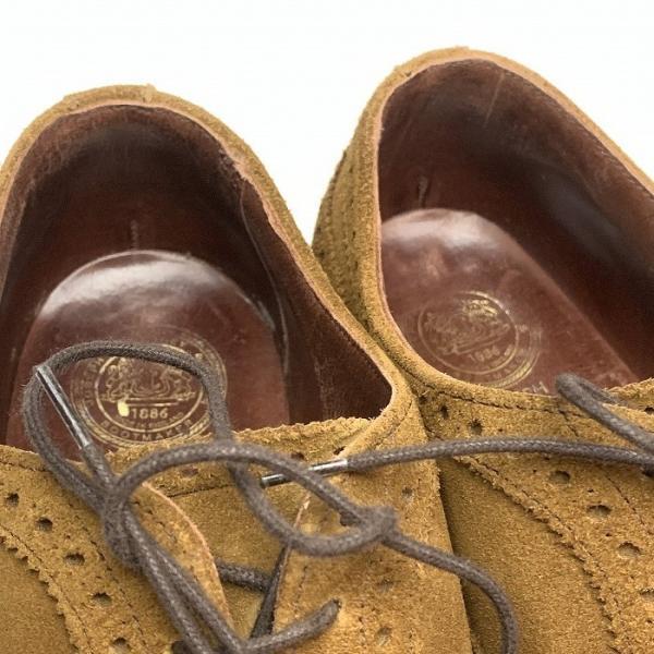 チーニー CHEANEY  ユナイテッドアローズ 別注 ウイングチップ シューズ メンズ 靴  【中古】 b-living 09