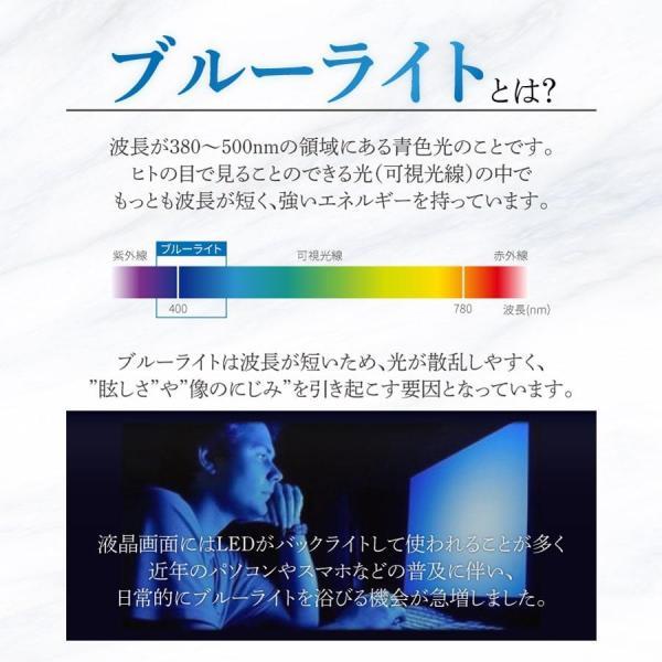 極上 強化ガラス ブルーライトカット 保護フィルム 日本製旭硝子 ipad air 10.5 mini 2019 ipad2/3/4 ipad pro 9.7 surface pro Surface Go|b-mart|02