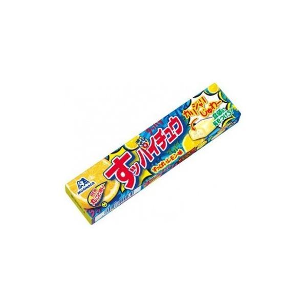 ネコポス  送料無料 ★森永製菓 ハイチュウ うますっぱいレモン味 12粒 5個セット★ ポイント 消化