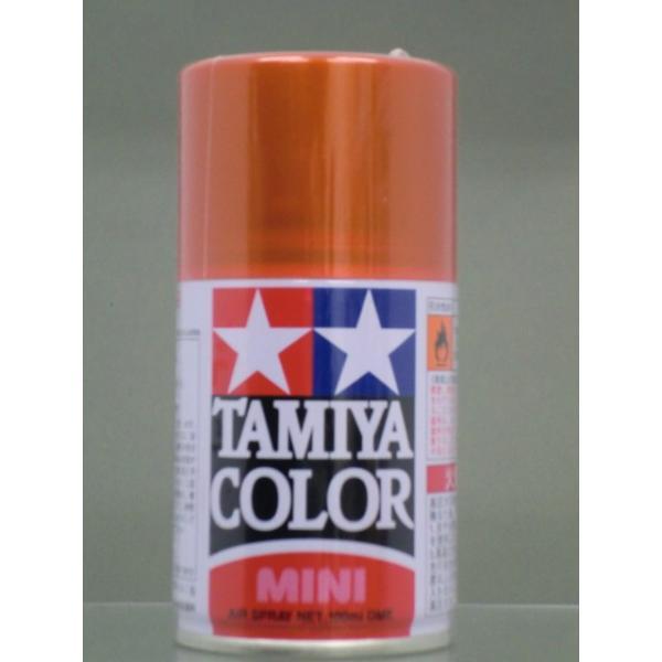 プラモデル塗料 タミヤカラー(ラッカー系)スプレー塗料(ミニ) TS-92 メタリックオレンジ|b-side-toy