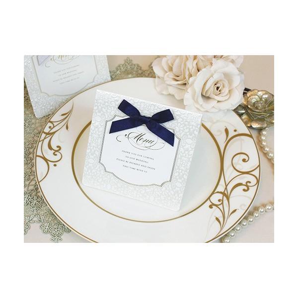 結婚式 メニュー ベリンダ セット 手作り キット 用紙 おしゃれ 安い 10部までネコポス可