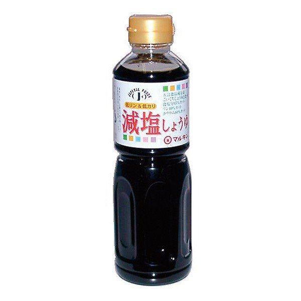腎臓病食 減塩 減塩しょうゆ マルキン忠勇 低リン・低カリ減塩醤油 500ml