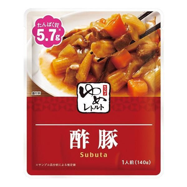 低たんぱく 腎臓病食 おかず ゆめレトルト 酢豚140g