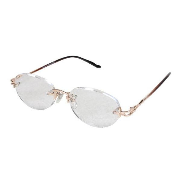 老眼鏡 エニックス +2.0 縁なし エニックス ERK-05+2.00
