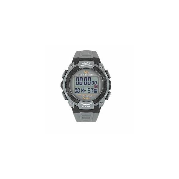 デジタル電波腕時計CYBEATグレーサンフレイムWRC17-GY