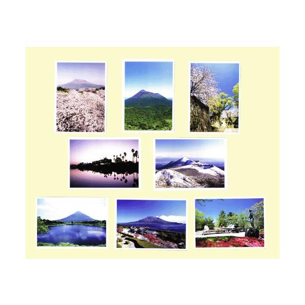 鹿児島ポストカード 8枚セット