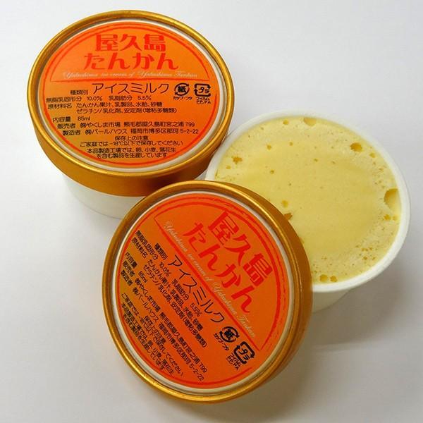屋久島たんかんアイスクリーム85ml babayaku