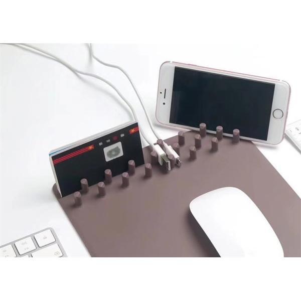 マウスパッド PC パソコン 周辺機器 おしゃれ ワイヤレス充電付き 高速 チャージボード 無線充電機能 スマホ設置台 マウスパッド 多功能 最新 人気 送料無料|babel22|06