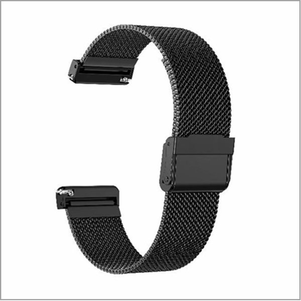 Fitbit Versa 交換バンド Fitbit Versa バンド メッシュステンレス スチール オシャレ ビジネス 高級腕時計 ミラネーゼループ ステンレス製ベルト|babel22|07