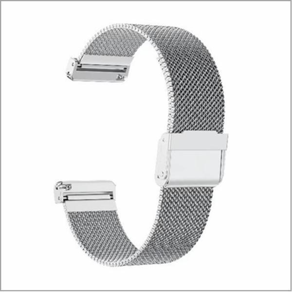 Fitbit Versa 交換バンド Fitbit Versa バンド メッシュステンレス スチール オシャレ ビジネス 高級腕時計 ミラネーゼループ ステンレス製ベルト|babel22|09