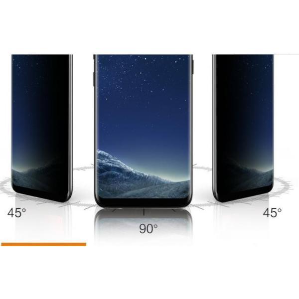 期間限定 Galaxy S10 S10E S10 Plus フィルム のぞき見防止 Note9 note8 強化ガラス 全面保護 指紋防止 キズ防止 強靭 気泡消失 頑丈|babel22|04