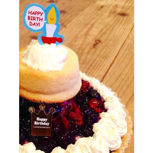 赤ちゃんケーキ ☆おやこのきずな★  (赤ちゃんが食べることができる誕生日やクリスマスの優しいケーキ♪‐こだわり職人の手づくり2段ケーキ♪‐) baby-cake-agree