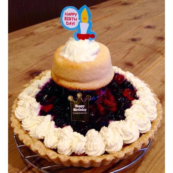 赤ちゃんケーキ ☆おやこのきずな★  (赤ちゃんが食べることができる誕生日やクリスマスの優しいケーキ♪‐こだわり職人の手づくり2段ケーキ♪‐) baby-cake-agree 02