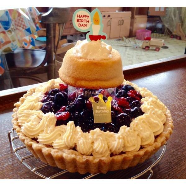 赤ちゃんケーキ ☆おやこのきずな★  (赤ちゃんが食べることができる誕生日やクリスマスの優しいケーキ♪‐こだわり職人の手づくり2段ケーキ♪‐) baby-cake-agree 04