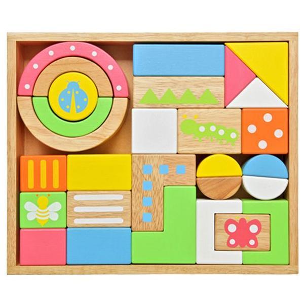 木製玩具(木のおもちゃ)音が出る積み木 サウンド ブロックス ラージ 28ピース入り|baby-jacksons|02