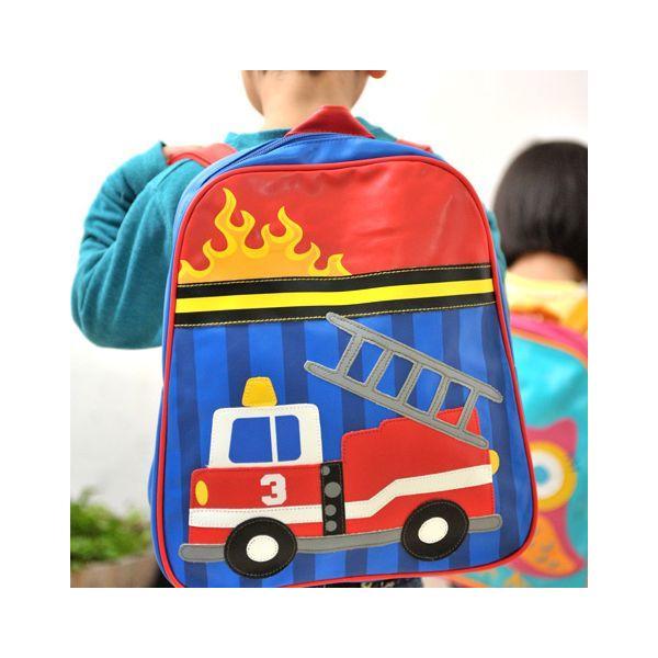 ステファンジョセフ ゴーゴーバッグ(リュック) 消防車(子供用リュック)|baby-jacksons