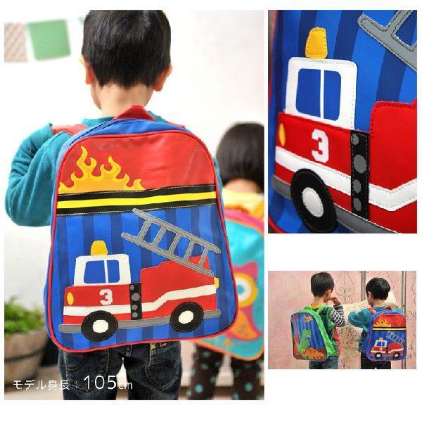 ステファンジョセフ ゴーゴーバッグ(リュック) 消防車(子供用リュック)|baby-jacksons|02
