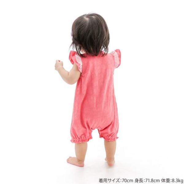 あすつく ベビー 女の子 キムラタン Biquette Club ビケットクラブ  半袖グレコ 70 80|baby-kids-kimuratan|08