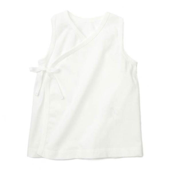 あすつく ベビー 子供服 キムラタン 愛情設計 日本製 袖なし天竺短肌着 夏用 50 60cm|baby-kids-kimuratan