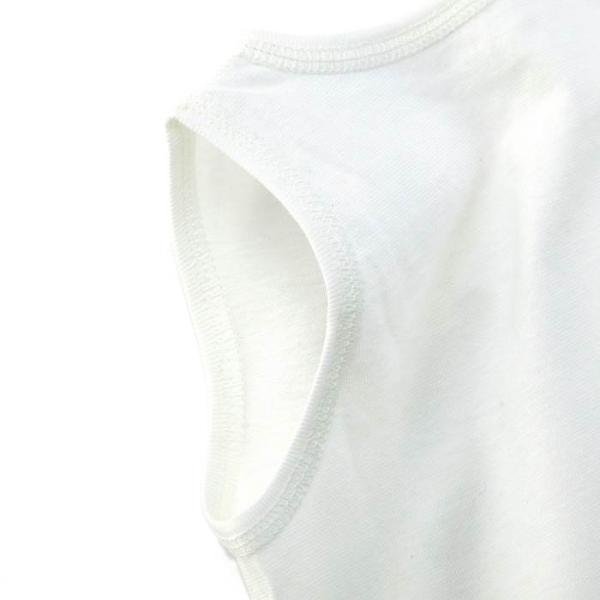 あすつく ベビー 子供服 キムラタン 愛情設計 日本製 袖なし天竺短肌着 夏用 50 60cm|baby-kids-kimuratan|06