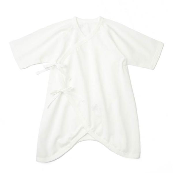 あすつく ベビー 子供服 キムラタン 愛情設計 日本製 天竺 コンビ肌着 夏用 50 60cm|baby-kids-kimuratan