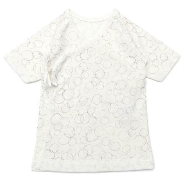 愛情設計 【日本製】 短肌着 (50cm)  女の子 男の子  キムラタン 子供服[肌着]