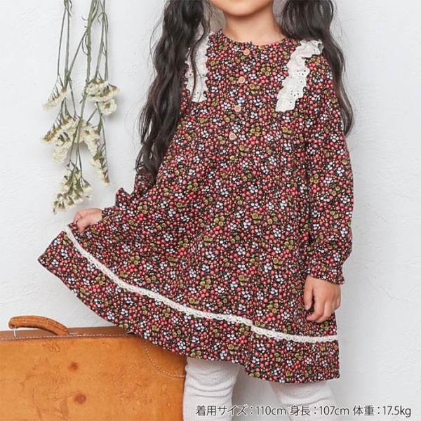 Biquette (ビケット ) ワンピース (80〜130cm)  女の子 キムラタン 子供服 あすつく|baby-kids-kimuratan|08