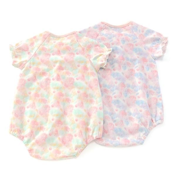 あすつく ベビー 女の子 キムラタン coeur a coeur クーラクール  ボディシャツ 60 70 baby-kids-kimuratan 02