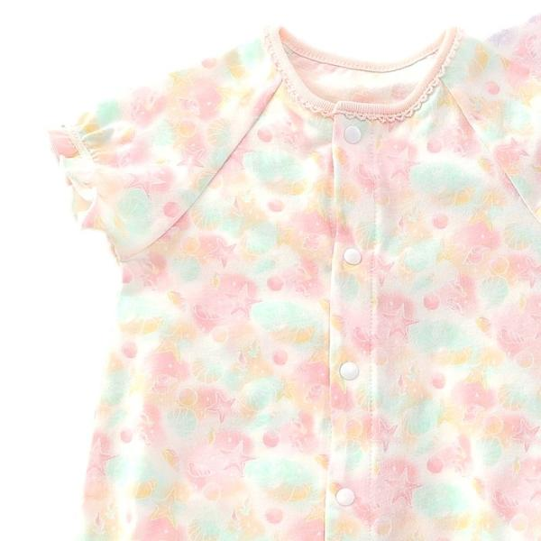 あすつく ベビー 女の子 キムラタン coeur a coeur クーラクール  ボディシャツ 60 70 baby-kids-kimuratan 10