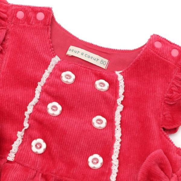 【nousノベルティ対象商品】あすつく 子供服 女の子 キムラタン coeur a coeur クーラクール  ジャンパースカート 70 80 90 95 100|baby-kids-kimuratan|11