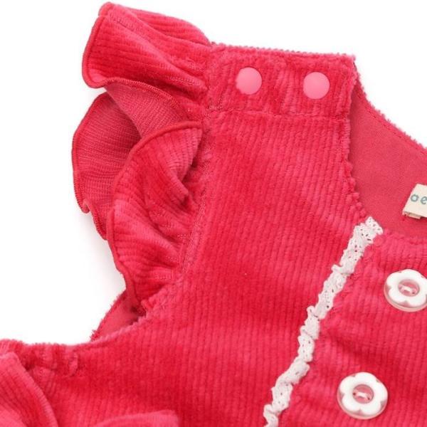 【nousノベルティ対象商品】あすつく 子供服 女の子 キムラタン coeur a coeur クーラクール  ジャンパースカート 70 80 90 95 100|baby-kids-kimuratan|13