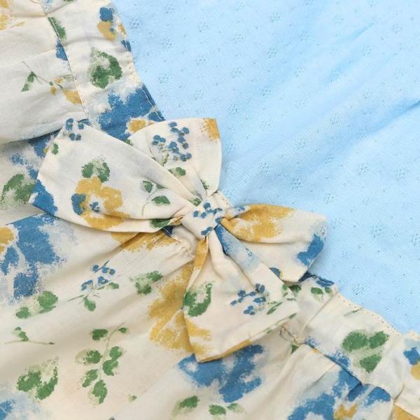 あすつく 子供服 女の子 キムラタン Lily ivory リリー アイボリー  ワンピース 80 90 95 100 110 120 130|baby-kids-kimuratan|15