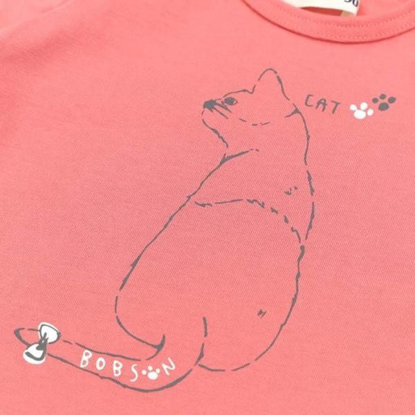 あすつく 子供服 女の子 キムラタン Bobson ボブソン  Tシャツ(長袖) 80 90 95 100 110 120 130 綿100% baby-kids-kimuratan 11